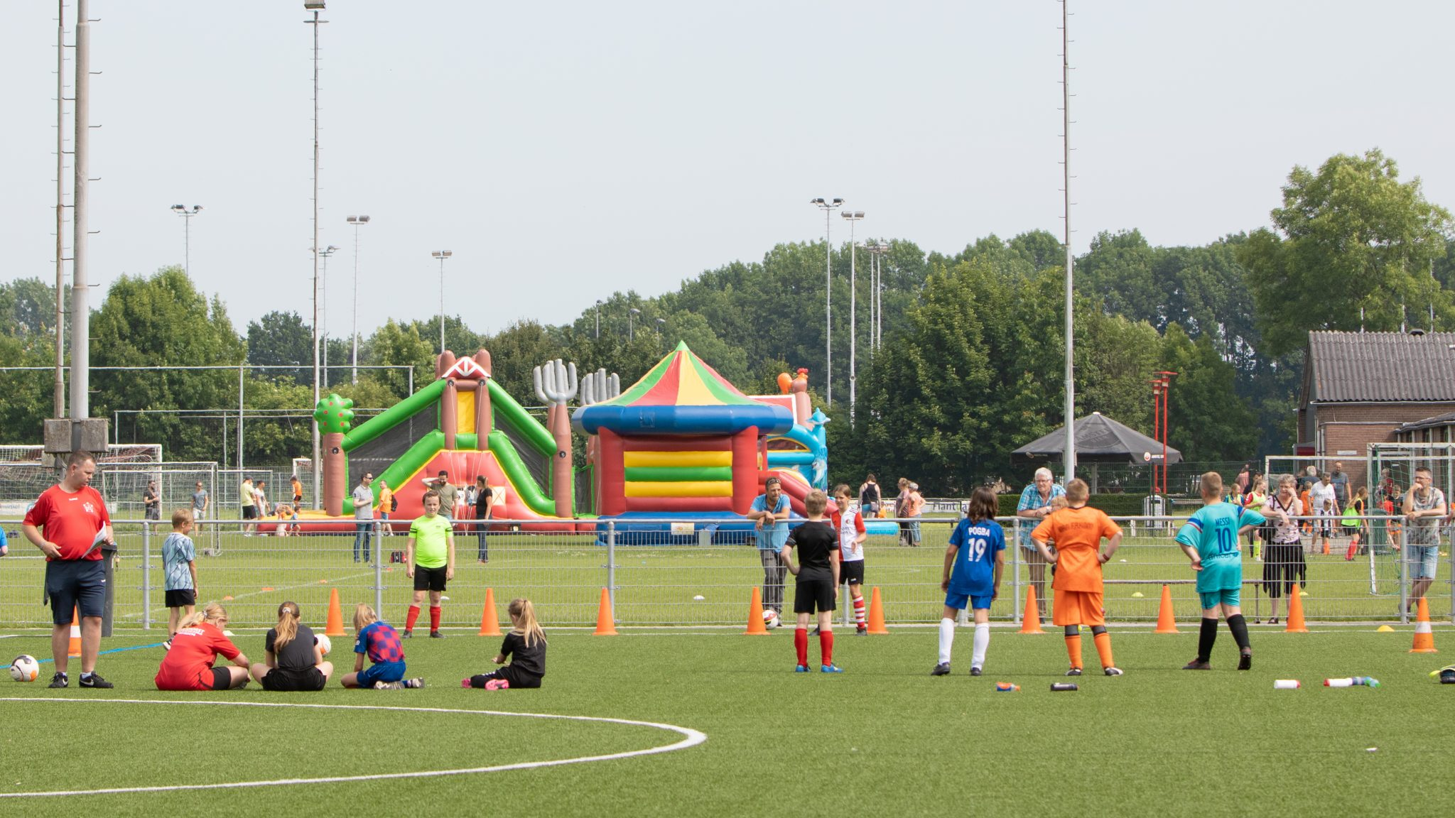 GVV KNVB Oranjefestival geslaagd