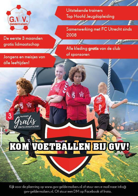 Kom voetballen bij GVV Geldermalsen